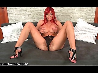 Dildo MILF Bus Mature Masturbation Mammy Hairy HD