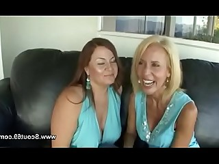 Mature Mammy Lesbian Granny First Time Dildo Casting Really