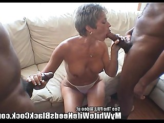 Black Big Cock Housewife Huge Cock Interracial MILF Orgy Party