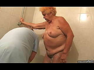 Granny Hairy Masturbation Mature Nasty Old and Young Pussy Sucking