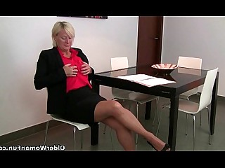 Stocking Panties Orgasm Nylon Mature Mammy HD Hardcore