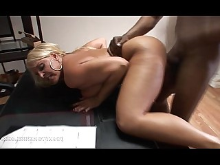Black Boobs Boss Big Cock Big Tits MILF Interracial Huge Cock