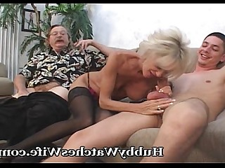 Cougar Cumshot Masturbation Mature MILF Old and Young Teen Wife
