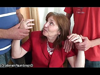 Wife Really Teen Threesome Old and Young Office Mature Mammy
