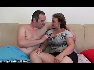 Mature Mammy Hot HD Granny Fatty Cumshot