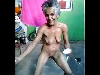 Granny Dancing Nude Pussy Ass Mature