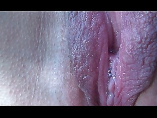 Close Up Mature Orgasm Pussy Wife