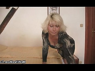 Teen Big Cock Mammy Mature Ride Old and Young Daughter Granny