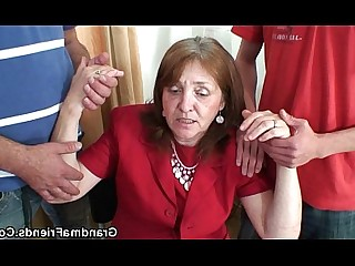 Wife Teen Really Old and Young Office Mature Mammy Housewife
