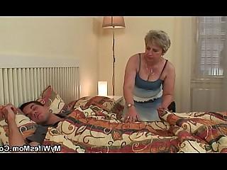Daughter Mammy Mature Sleeping
