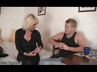 Blonde Granny Mammy Teen Old and Young Housewife Wife Mature