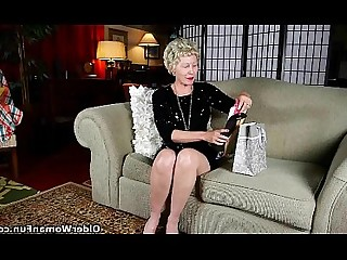 Granny Mammy Mature Nylon Panties Stocking