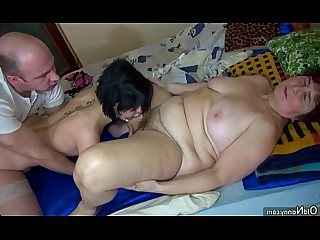 Fuck BBW Granny Fatty Hairy Licking Mature Nasty