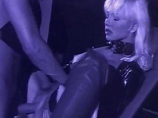 Pornstar MILF Latex Fetish Dildo Cumshot Cum Beauty
