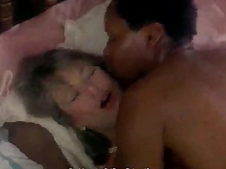 Schoolgirl Pleasure Vintage MILF Threesome Interracial Cougar Ass