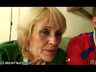 Really Housewife Mammy Mature Blonde Friends Old and Young Granny