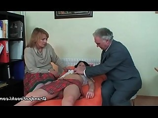Seduced Mature Threesome Prostitut Granny Teen Nasty Couple