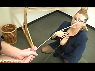 Teacher Schoolgirl Ass MILF Mature Jerking Hot Cumshot