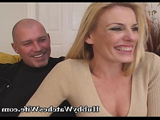 Blonde Cougar Couple Fantasy Mature MILF Pussy Wife