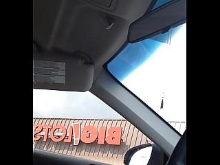 Public MILF Car Solo