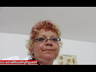 Uniform Shaved Natural Nurses Nasty Masturbation Mature Mammy