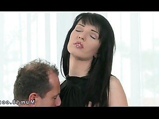 Housewife Fuck Stocking Erotic Rimming Couple Pussy Brunette