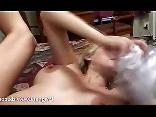Pregnant MILF Mature Blonde Mammy Hardcore
