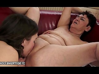 Old and Young Pussy Brunette Rimming Teen Big Tits Curvy Fingering