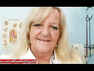 Office Nurses Mature Masturbation Kinky Hairy Granny Fetish