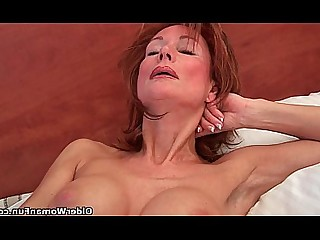 Cougar Funny Wife Redhead Pussy Mature Masturbation Granny
