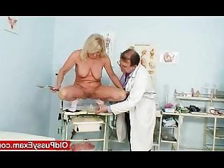 Vagina Pussy Blonde Granny Mature