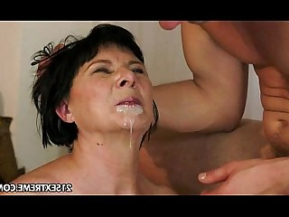 Black Toys Blowjob Brunette Cumshot Facials Fingering Granny