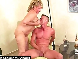 Fuck Granny Hairy Mature Toys Dildo Fatty