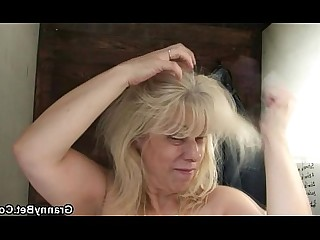 Old and Young Public Wife Teen Blonde Fuck Granny Housewife