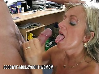 Wife Facials Hot Teen Sucking Old and Young Mature Mammy