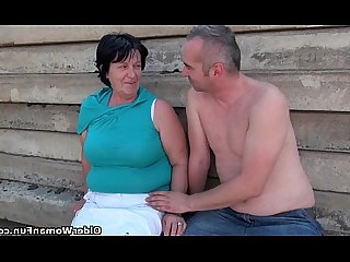 Fuck Granny Mammy Mature Nasty Nipples Outdoor Funny