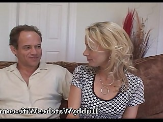 Fantasy MILF Old and Young Really Teen Wife Blonde Blowjob