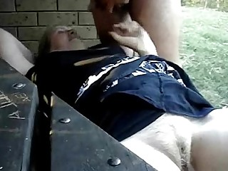 Mature Outdoor Funny Amateur Fingering Granny