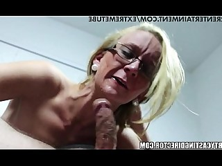 Innocent MILF Playing Pussy Squirting Sucking Teen Blonde