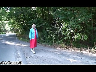 Car Fuck Granny Housewife Mammy Mature Old and Young Wife