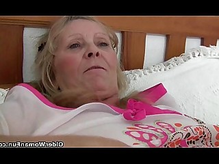 Funny Stocking Mature Masturbation Hot Fingering Fuck Granny