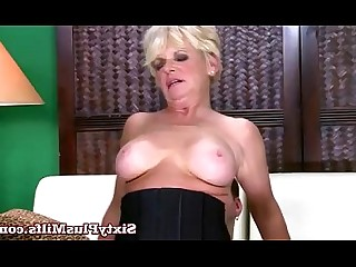 Blonde Mature Granny Fuck